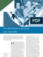 Kotan. De Allochtone Economie Van Het CPB. Economisch Statistische Berichten 2007