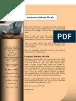 Belajar Membaca Menulis Methode Montssori
