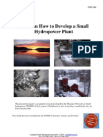 Part 1 Guide on How to Develop a Small Hydro Power Plant- Final