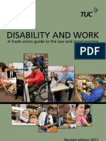 Disability and Work (Discapacidad y trabajo)