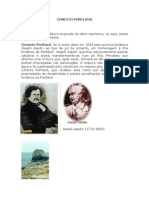 TRABALHO MATERIAIS DE CONSTRUÇÃO - CIMENTO PORTLAND