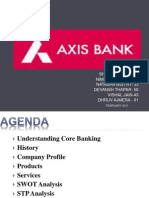 Core Bank In Axis Bank