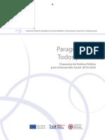 Paraguay para todos y todas - Propuesta de Política Pública para el Desarrollo Social 2010-2020 - PortalGuarani