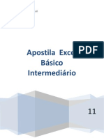 Apostila Excel Básico - Intermediário ALL