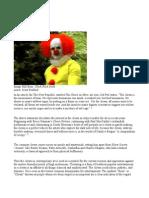 Essay Clown in Art