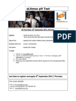 eLitmus pH Test Details