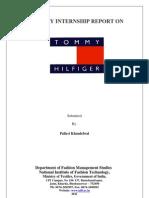 Industry Internship Report Tommy