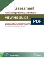 ViewingGuideSelf_AssessmentAfLVideoSeries