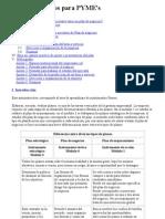Plan de Negocios Para PYME