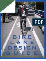 Chicagos Bike Lane Design Guide (2002)