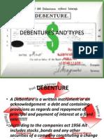 Debentures and Types