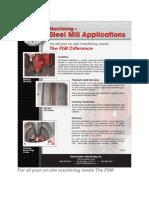 Steel Mill Applications LR Field System Machining