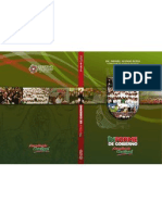 Portada de Presentación Primer Informe de Gobierno Zacatecas 2011