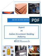 Indian Investment Banking Industry