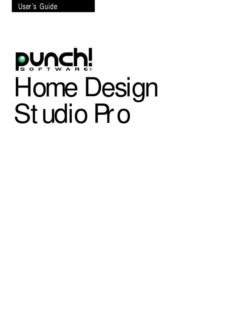 Home Design Studio Pro Manual | Menu (Computing) | Button (Computing)
