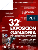 32º Exposición Ganadera de reproductores