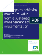 Achieving Value From Sustainability Software_CA Tech