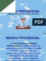 RIESGO PSICOSOCIAL TAREA