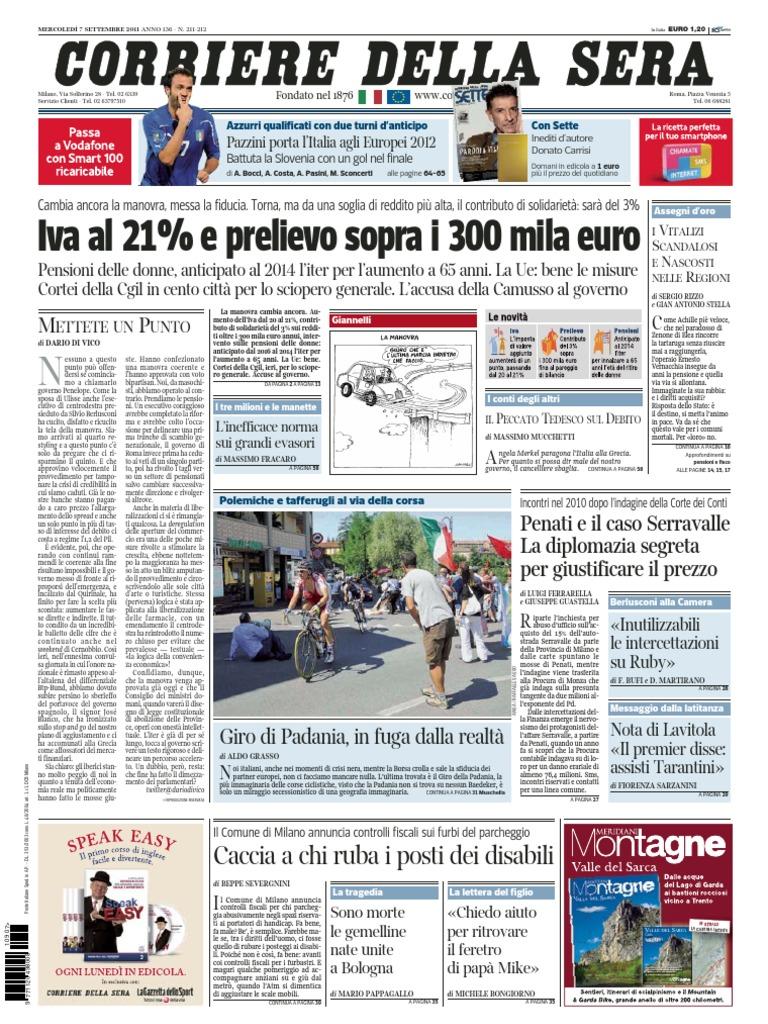 8cd639bbf0 Corriere.della.sera.07.09.11