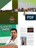 Primer Informe de Gobierno Eje 2 Zacatecas Unido