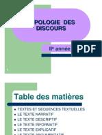 Types DeTextes CP FR C