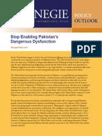 Stop Enabling Pakistan's Dangerous Dysfunction