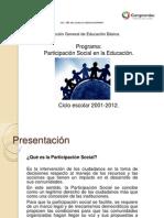 Presentación participacion social en la educación 2011-2012