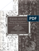 Panji Sepuh, Indonesia Contemporary Dance & Music Performance