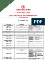 Calendario Corso OPEM Settembre2011
