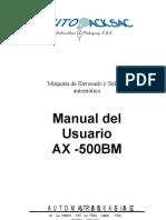 Copia de Ax-500bm Manual