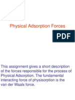 Physical Adsorption Forces