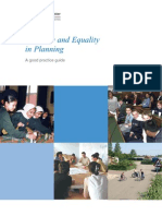 Diversity and Equqlity in Planning