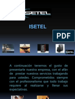 Presentación Isetel