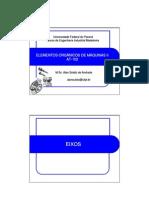 Elementos de máquinas - EIXOS