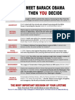 "UDecide.org's ""Meet Barack Obama, Then You Decide"" flyer"