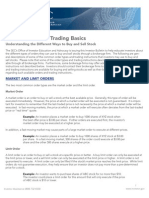 Stock Trading 101 Basics
