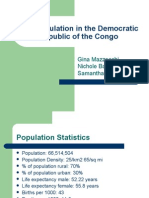 Overpopulation in the Democratic Republic of the Congo