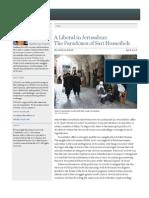 A Liberal in Jerusalem