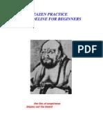ZAZEN (Zen) Practice a Guideline for Beginners