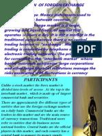 Foriegn Exchange Market
