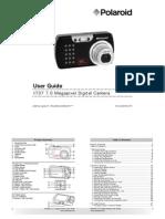 Polaroid t737 Manual