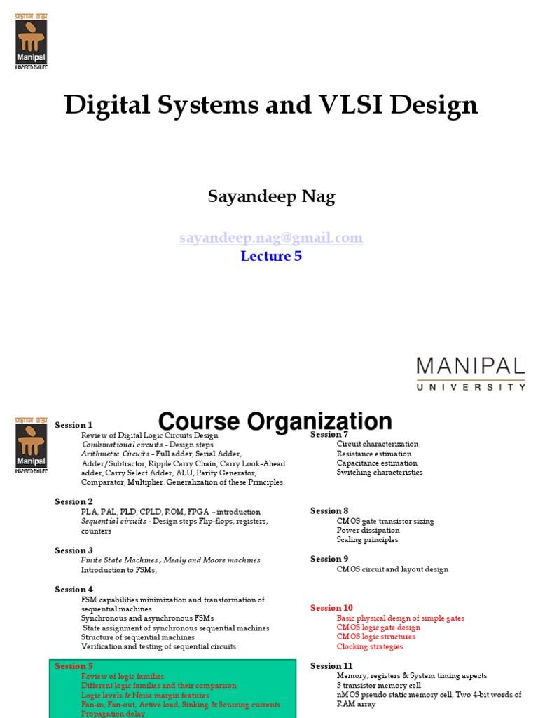 Dsvd Lecture5 Cmos Logic Gate 9 Bit Parity Generator Diagram