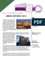 PCC Travel | Greek Odyssey 2012
