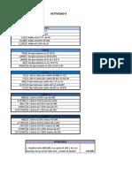 Actividad 5 Excel