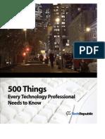 500 Things