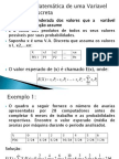 AULA 7 - MEDIA, VARIANCIA E DESVIO PADRÃO (I)