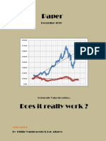 Systematic Value Investing Does It Really Work