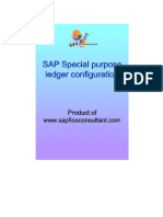 Special Purpose Ledger Config