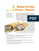 Case Study on Tortillas With Answers