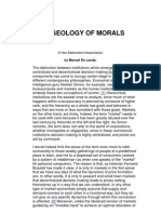 The Geology of Morals, Manuel Delanda